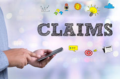 CLAIMS Stock Image