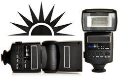 Éclair d'appareil-photo Images libres de droits