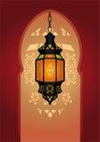 éclairage arabe de lampe Photos stock