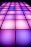 éclairage coloré d'étage de disco de danse Photos libres de droits
