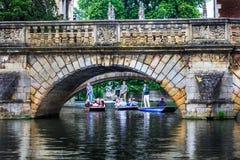 Claire Bridge bij de Universiteit van Cambridge Stock Fotografie
