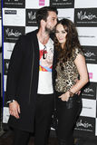 Claire Cooper, Emmett Scanlan. Emmett Scanlan and Claire Cooper arrives for the Malmaison Hotel Liverpool re-opening party.. 23/09/2011  Picture by Steve Vas/ Stock Photography