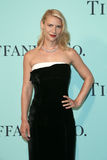 Claire Danes. BROOKLYN, NY-APR 21: Actress Claire Danes attends the Tiffany & Co. 2017 Blue Book Collection Gala at St. Ann`s Warehouse on April 21, 2017 in stock image