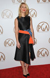 Claire Danes. LOS ANGELES, CA - JANUARY 25, 2015: Claire Danes at the 26th Annual Producers Guild Awards at the Hyatt Regency Century Plaza Hotel stock images