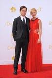 Claire Danes y Hugh Dancy imagen de archivo libre de regalías