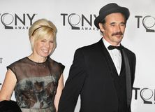 Claire van Kampen et Mark Rylance Photo stock