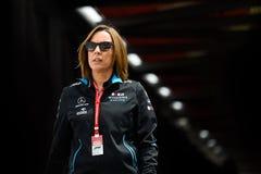 Claire Williams, Monaco 2019