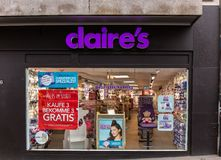 Claires lager i Basel Royaltyfri Fotografi