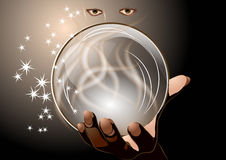 Clairvoyant Royalty Free Stock Photo
