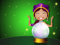 Clairvoyant Royalty Free Stock Images