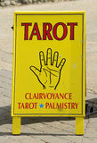 Clairvoyant's Sign Royalty Free Stock Photos