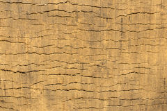 Claish powierzchnia po ekskawatoru wiadra bieg Zdjęcie Stock