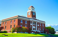 Clallam County Courthouse, Port Angeles Washington Royalty Free Stock Images