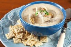 clam густого супа Стоковые Фото