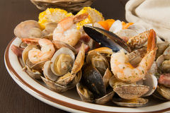 Clam bake Stock Images