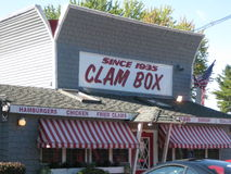 The Clam Box Stock Photography