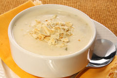 Clam chowder Stock Images
