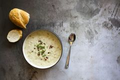 Free Clam Chowder Royalty Free Stock Photos - 163774278