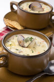 Clam Chowder Stock Image
