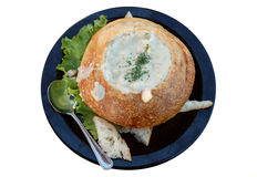 Clam chowder Royalty Free Stock Image