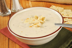 Clam Chowder Royalty Free Stock Images