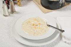 Clam chowder Royalty Free Stock Photos