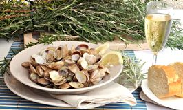 Clam dish Stock Photo