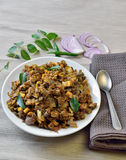 Clam fry or roast. In Kerala style Stock Image