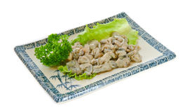 Clam meat Stock Photos