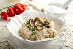 Clam rice Royalty Free Stock Images