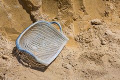 Clam shell shaped basket Stock Images