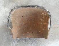 Clam shell shaped basket Stock Photo