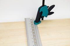 Clamp carpentry Stock Photo