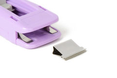 Clamp Clip and dispenser Stock Images