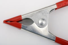 Clamp tool, close up Royalty Free Stock Photo