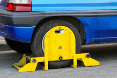 Clamped car Stock Photography