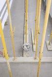 Clamping beams Royalty Free Stock Image