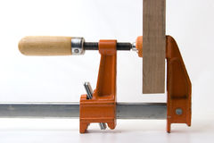 Clamping wood Royalty Free Stock Photo
