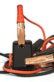 Clamps for charging Stock Image