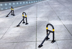 Clamps for parking Royalty Free Stock Images