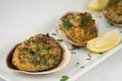 clams закуски заполнили Стоковое Изображение RF