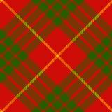 Clan cameron tartan diagonal seamless pattern Royalty Free Stock Photography