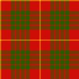 Clan cameron tartan seamless pattern Stock Image