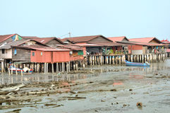 Clan Jetties of Penang Stock Images