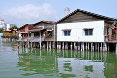 Clan Jetties of Penang Stock Image