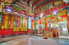 The Clan Temple in Yangon, Myanmar royalty free stock images