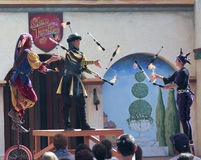 A Clan Tynker Show, Arizona Renaissance Festival Stock Images