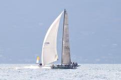 Clandesteam, welches das Trofeo Gorla 2012 beginnt Stockbilder