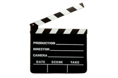Clap Board. Movie Clap Board Stock Photo