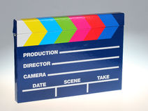 Clap board Royalty Free Stock Image
